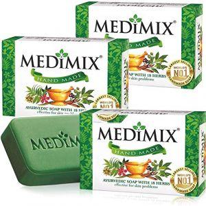 Medimix Hand made Ayurvedic soap with 18 herbs 125 g