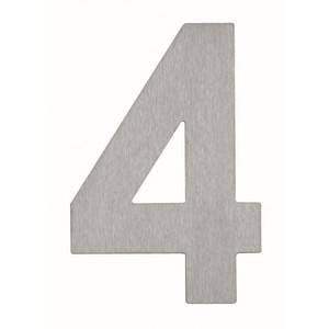 Albert Leuchten Numéro de maison 4- en acier