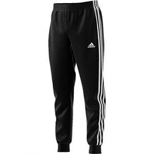 Adidas YB MH 3S Pant Pantalon de Sport Garçon, Noir/Blanc, FR : L (Taille Fabricant : 1112Y)