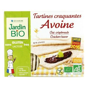Jardin Bio Tartines craquantes avoine sans gluten