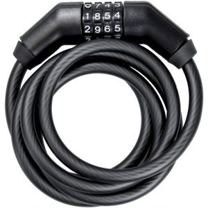 Trelock SK 260 Code - Antivol vélo - 150 cm noir Câbles antivol