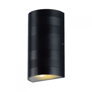 Vision-El Applique murale LED 2x5W cylindrique 3000°K gris IP54