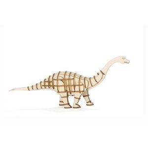 Kikkerland Puzzle 3D en bois Apatosaure