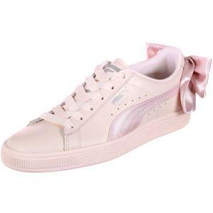 Puma Basket Bow Wn's, Sneakers Basses Femme, Rose (Pearl-Pearl), 36 EU