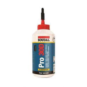 Soudal Colle à bois résistante à l'eau PRO 30D