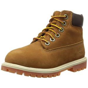 Timberland Boots enfant 6 IN PREMIUM WP BOOT - Marron - Taille 31,33