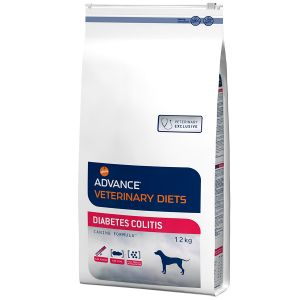 Advance Croquettes chien VETERINARY DIETS Diabetes Colitis - Sac 12 kg