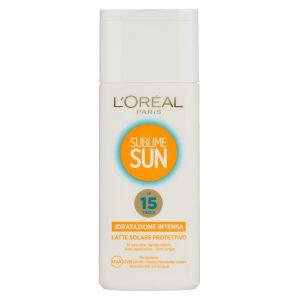 L'Oréal Sublime sun - Latte solare protettivo SPF 15