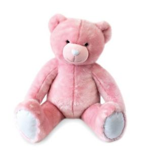 Doudou et Compagnie Ours collection 120 cm rose sorbet