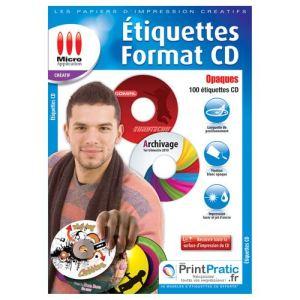 Micro application 70 étiquettes CD format A4