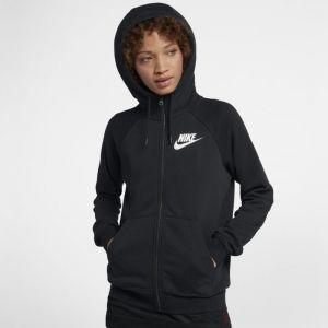 Nike Sweat à capuche entièrement zippé Sportswear Rally pour Femme - Noir - Taille L