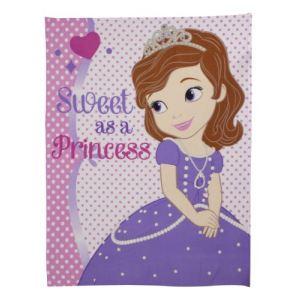 Character World Plaid Princesse Sofia de Disney