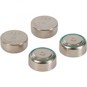 Toolstation Lot de 4 piles bouton alcalines lr44