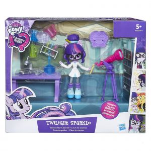 Hasbro My Little Pony Equestria Girls Minis Twilight Sparkle Science étoile de classe
