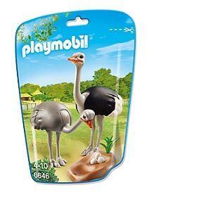 Playmobil 6646 City Life - Sachet autruches et nid