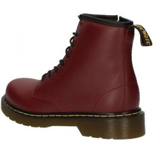 Dr. Martens Delaney, Boots mixte enfant - Rouge (Cherry Red), 34 EU (2 UK)