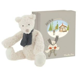Moulin roty Peluche Ours Mika 36 cm