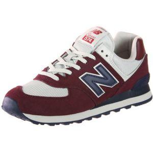New Balance Ml574 chaussures Hommes bordeaux T. 45,0