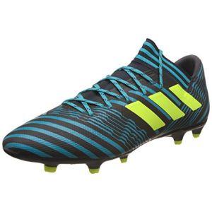 Adidas Nemeziz 17.3 FG, Chaussures de Football Homme, Multicolore (Legend Ink F17/Solar Yellow/Energy Blue S17), 45 1/3 EU