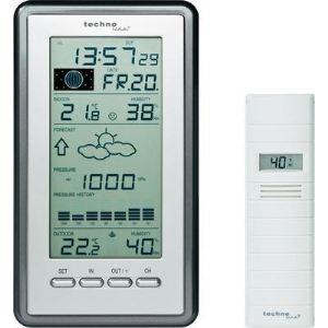 Technoline WS 9040 IT - Station météo température et hygrométrie intérieures et extérieures