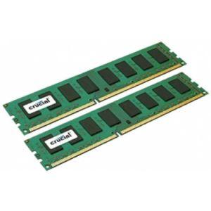 Crucial CT2K25664BD160B - Barrette mémoire DDR3 4 Go (2 x 2 Go) 1600 MHz CL11
