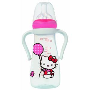 Tigex 104600 - Mon biberon de grand Hello Kitty avec poignées et tétine en silicone