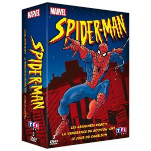 Coffret Spider-Man - Volumes 1 à 3 (Dessin Animé)