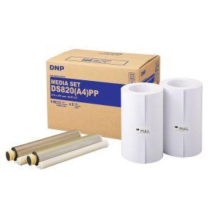 Dnp Papier Standard pour DS820 A4 20x30 cm - 2 x 110 tirages