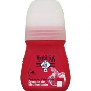 Le Petit Marseillais Déodorant bille extra doux grenade de méditerranée