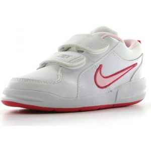 Nike Pico 4 Psv, Sneakers Basses fille, Blanc (White/Prism Pink-Spark), 31.5 EU (UK child 13 Enfant UK)
