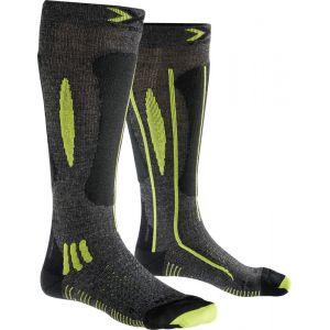 X-Bionic Effektor Ski Race Chaussettes Homme jaune/noir 45/47 Chaussettes sports d'hiver