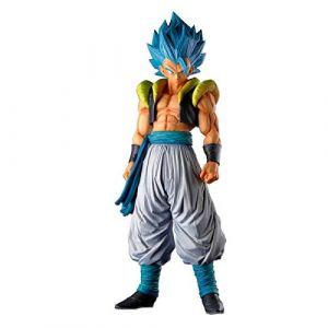 Banpresto Dragon Ball Z - Super Master Stars Piece - Gogeta The Brush Super Saiyan Figurine - bleu