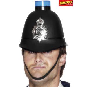 Smiffy's CASQUE DE POLICIER AVEC SIRÈNE LUMINEUSE