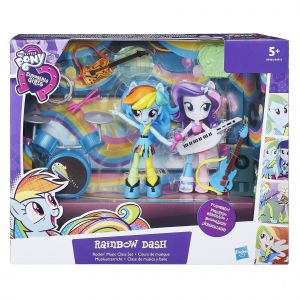Hasbro My Little Pony Equestria Girls Mini poupée univers Rainbow Dash