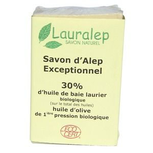Lauralep Savon d'Alep Bio exceptionnel