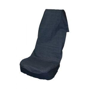IWH Housse de protection de siège pour garage 1 pièce 1399062 Coton, denim bleu siège conducteur