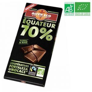 Alter Eco Chocolat noir équateur 70%