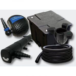 Kit de filtration de b in 12000l Stérilisateur 72W Pompe Skimmer