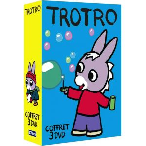 Coffret Trotro - Vol. 4 à 6 : Trotro a un beau cartable + Trotro fête l'hiver +Trotro et Nounours