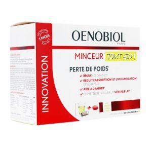 Oenobiol Minceur Tout en 1 30 sticks 60 comprimés