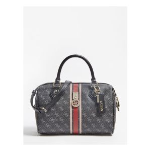 Guess Sac à main JENSEN BOX SATCHEL Gris - Taille Unique