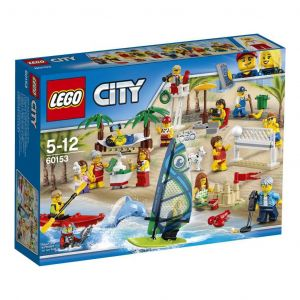 Lego 60153 - City : Ensemble de figurines la plage