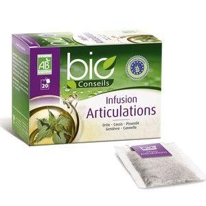 Bio Conseils Infusion Articulations Bio 20 sachets