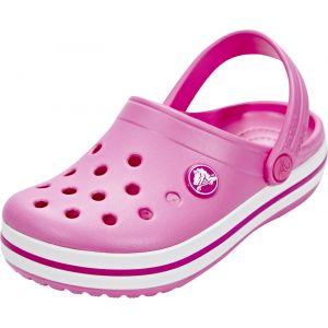 Crocs Crocband Clog Kids, Sabots Mixte Enfant, Rose (Party Pink), 25-26 EU