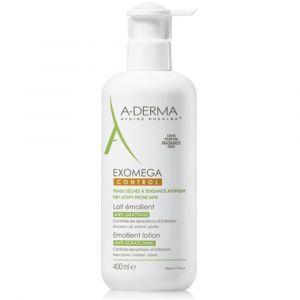 A-Derma Exomega Control - Lait émollient - 400 ml