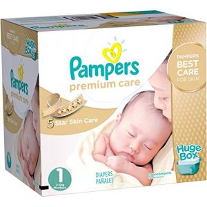 Pampers Maxi Giga Pack 164 Couches Premium Care Taille 1