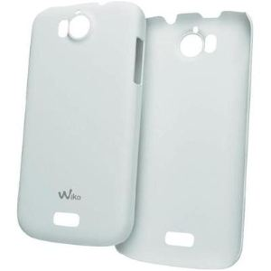 Wiko CLIPULTRASLIMPEAXWHITE - Coque ultra-slim pour Wiko Cink Peax