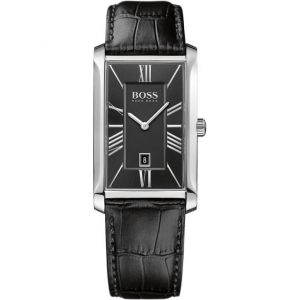 Hugo Boss 1513437 - Montre pour homme avec bracelet en cuir