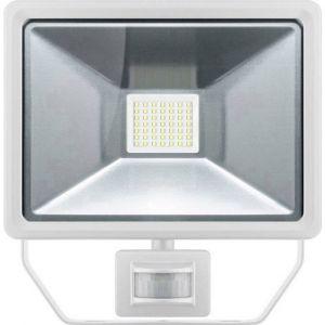 Goobay 44530 Projecteur LED extérieur avec détecteur de mouvements 50 W blanc lumière du jour blanc
