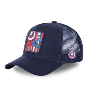 Freegun Capslab - Casquette Capslab Captain america CPT1 - CPT1 - Bleu, U
